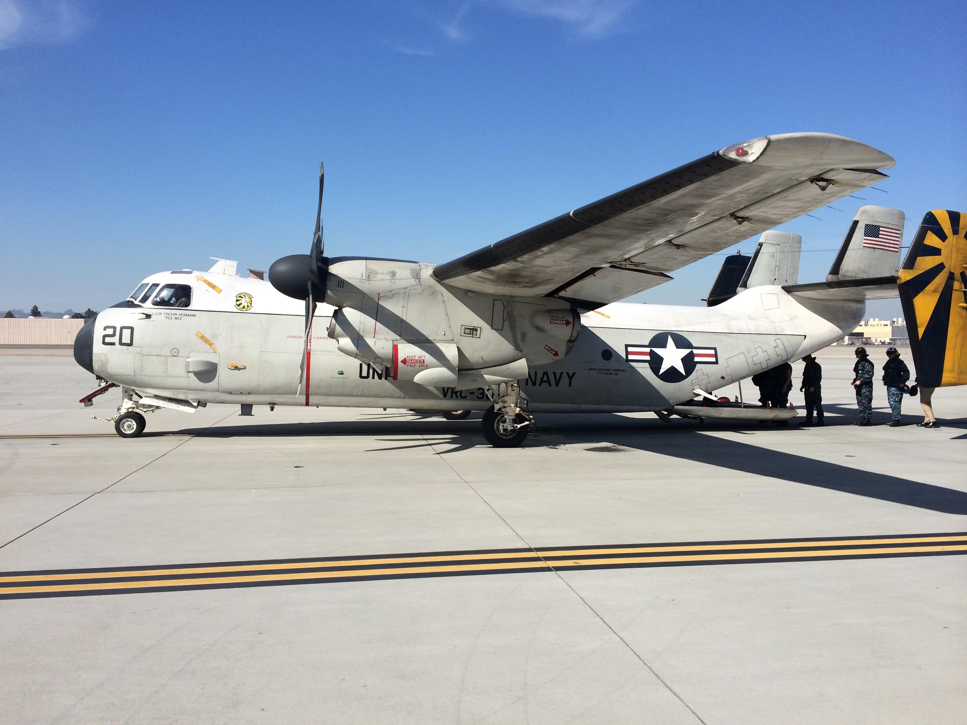 C 2a Greyhound Logistics Aircraft C-2A Greyhound  Logistics