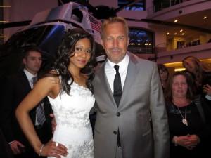 Vaja and Kevin Costner